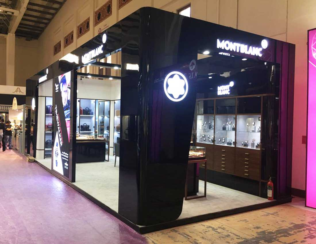 Jewelry Exhibition Stand Design : Top solutions